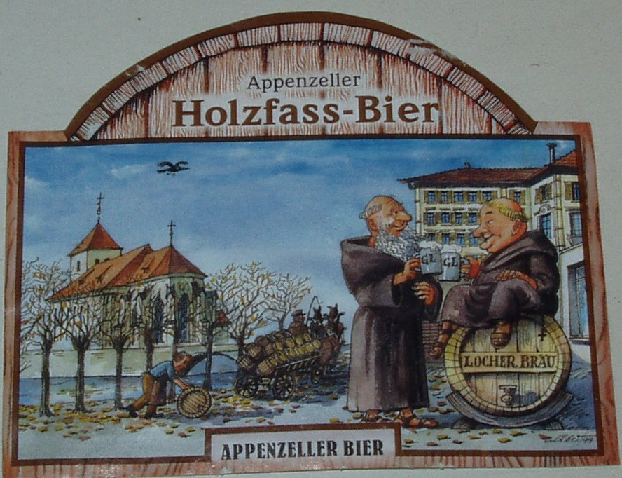 Holzfass Bier